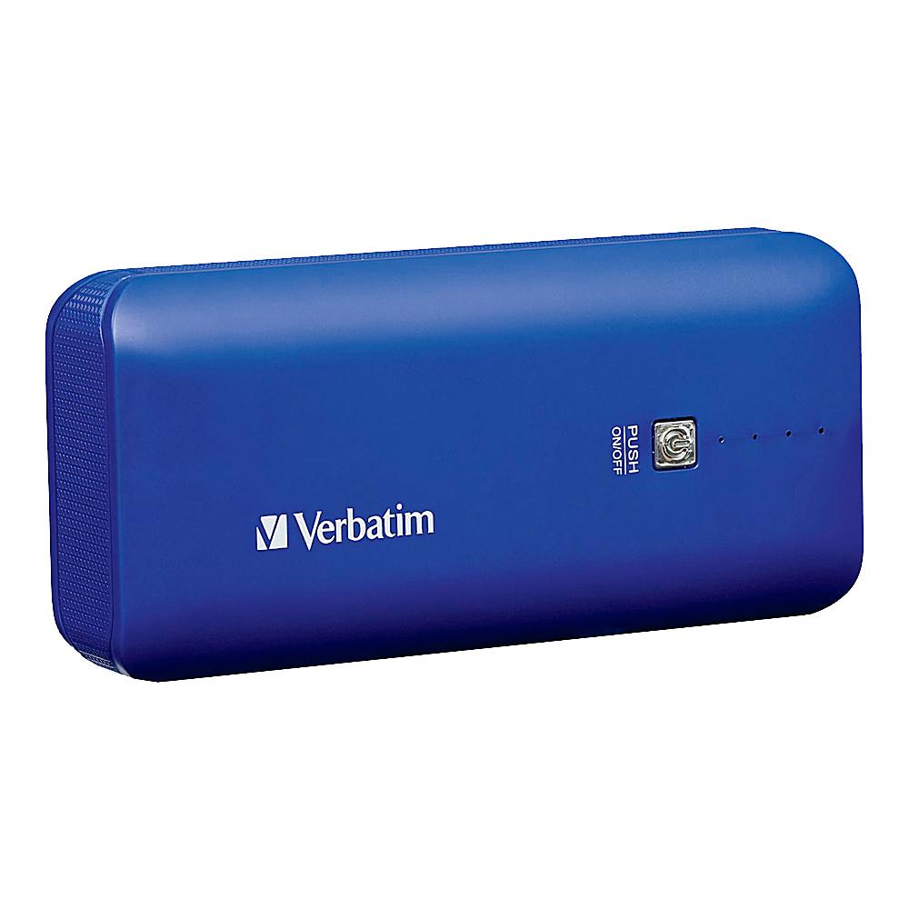 Verbatim Portable Power Pack 4400mAh 99378 Cobalt Blue Verbatim Portable Batteries Chargers