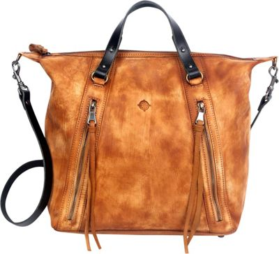Old Trend Old Trend Mossy Creek Satchel Chestnut - Old Trend Leather Handbags