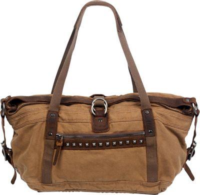 TSD Butterfly Satchel Camel - TSD Fabric Handbags