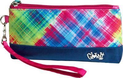 Glove It Wristlet Electric Plaid - Glove It Fabric Handbags