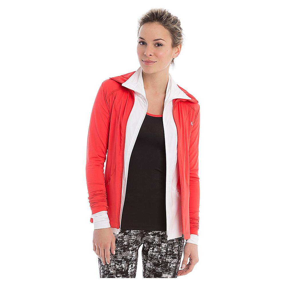 Lole Essential Cardigan XS - Red - Lole Mens Apparel - Apparel & Footwear, Men's Apparel