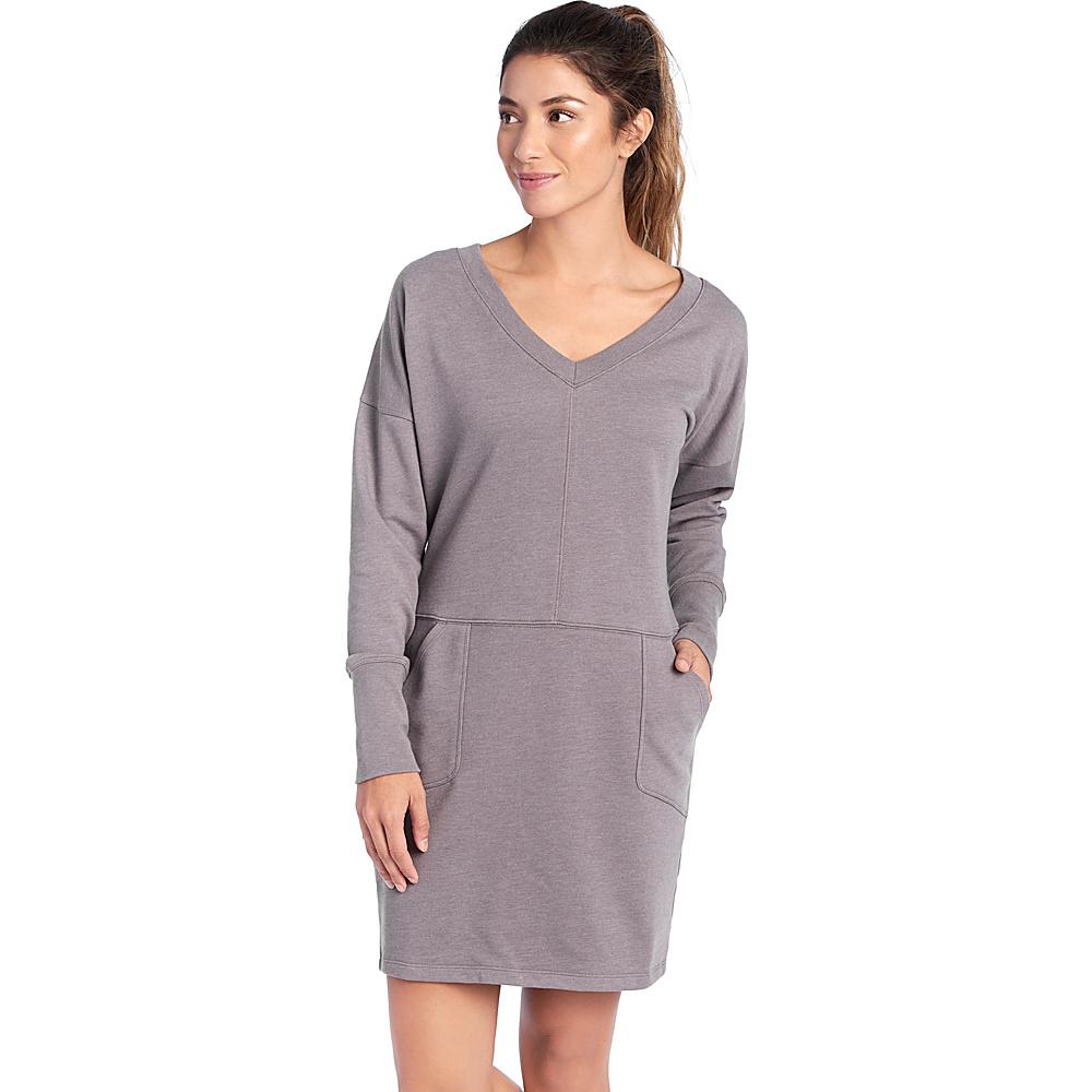 Lole Sohan Dress XS - Medium Grey Heather - Lole Womens Apparel - Apparel & Footwear, Women's Apparel