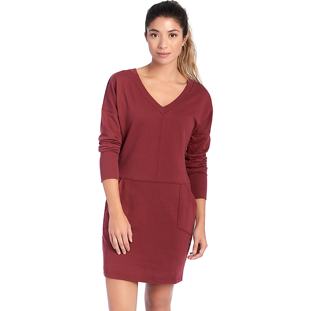 Lole Sohan Dress XS - Cordovan - Lole Womens Apparel - Apparel & Footwear, Women's Apparel