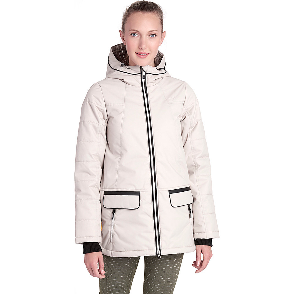 Lole Malaya Jacket S - Silver Gray - Lole Womens Apparel - Apparel & Footwear, Women's Apparel