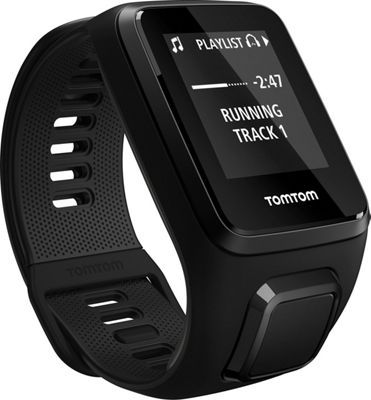 TomTom Spark 3 Cardio + Music GPS Fitness Watch Black Small - TomTom Wearable Technology