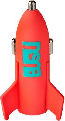BUQU Astro Rocket USB Car Charger Salmon - BUQU Car Travel