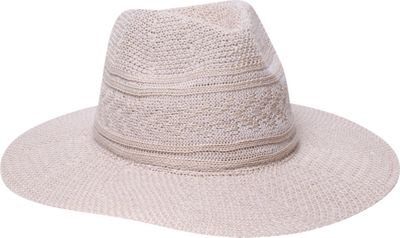 Physician Endorsed Jesse Knit Fedora Hat One Size - Sand - Physician Endorsed Hats/Gloves/Scarves