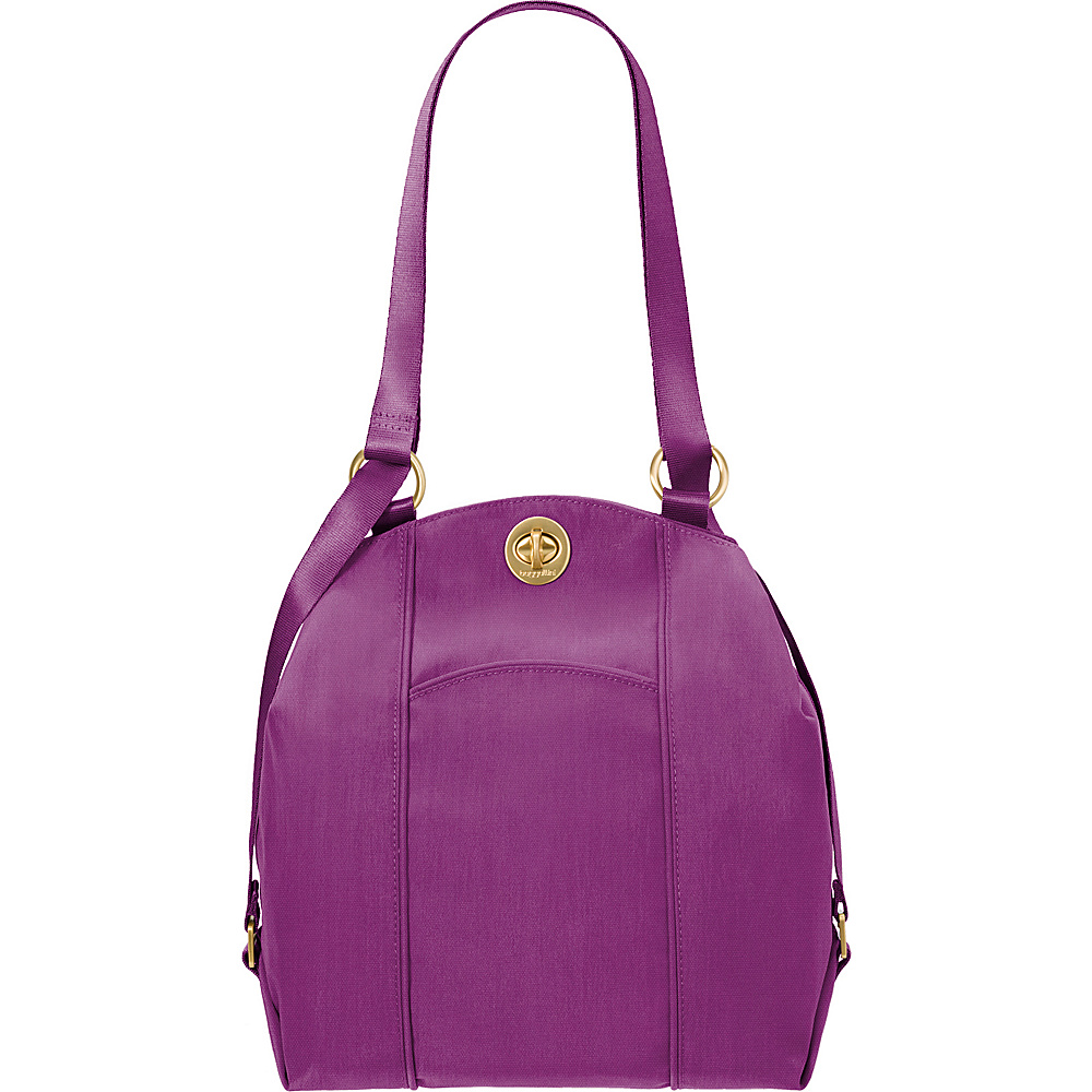 baggallini Mendoza Backpack - Retired Colors Magenta - baggallini Fabric Handbags - Handbags, Fabric Handbags