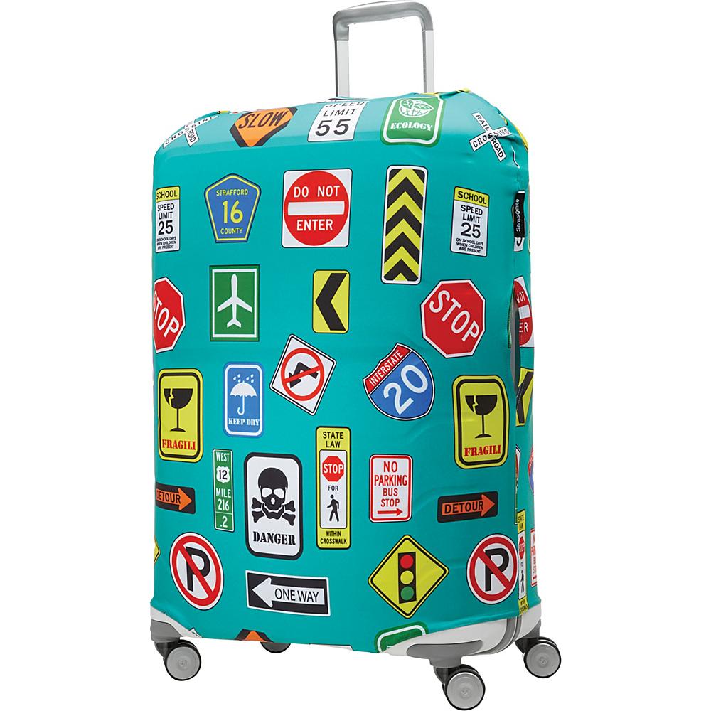 Samsonite Travel Accessories Printed Luggage Cover Large Street Signs Samsonite Travel Accessories Luggage Accessories