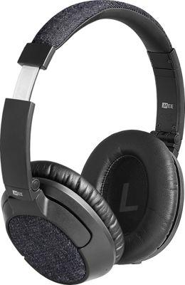 MEE Audio Matrix3 Over-the-Ear Bluetooth Wireless HD Headphones with aptX and AAC Black/Gray Denim - MEE Audio Headphones & Speakers