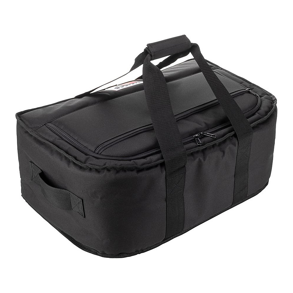 AO Coolers 38 Pack Canvas Stow N Go Soft Cooler Black AO Coolers Outdoor Coolers