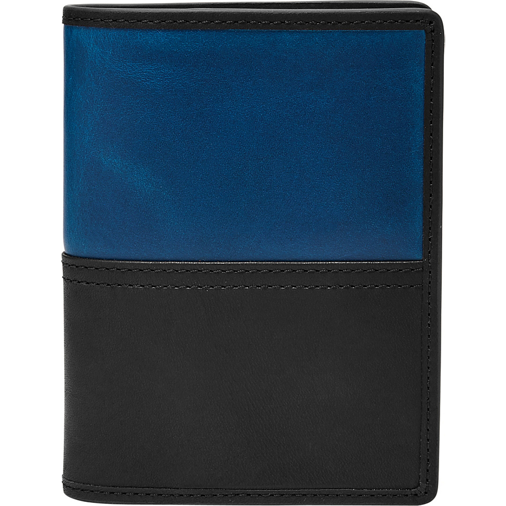 Fossil Tate RFID International Combination Wallet Black - Fossil Mens Wallets - Work Bags & Briefcases, Men's Wallets