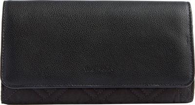 Vera Bradley RFID Audrey Wallet - Solid Classic Black - Vera Bradley Women's Wallets