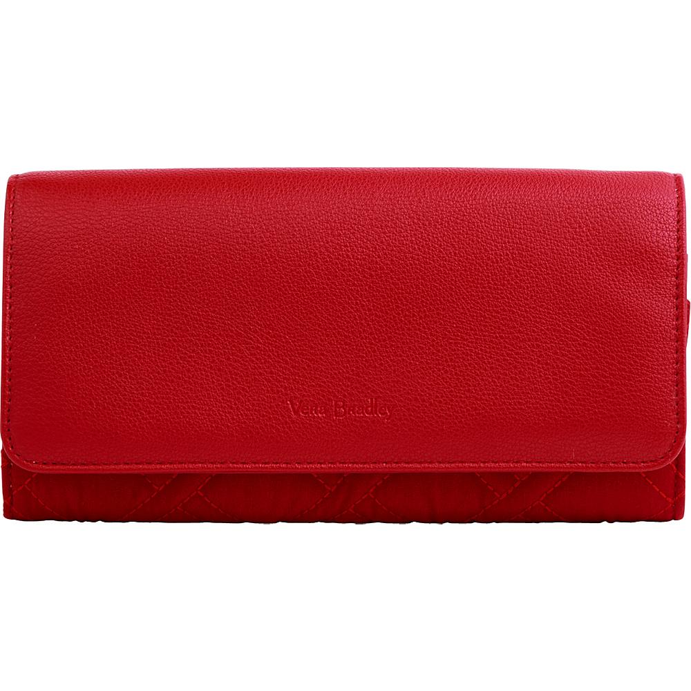 Vera Bradley RFID Audrey Wallet - Solid Cardinal Red - Vera Bradley Womens Wallets - Women's SLG, Women's Wallets