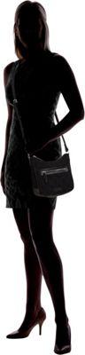Vera Bradley Mini Vivian Crossbody - Solid Classic Black - Vera Bradley Fabric Handbags