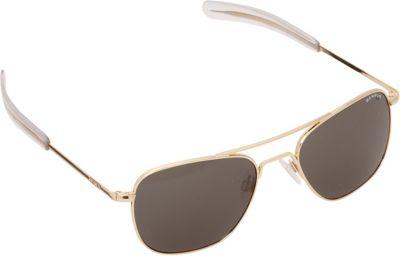 BENRUS Aviator Sunglasses - 58mm Almond Gold - BENRUS Sunglasses