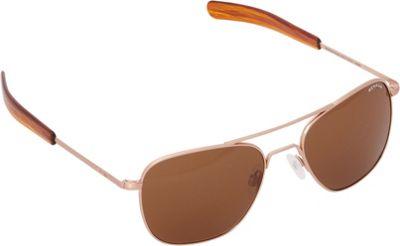 BENRUS Aviator Sunglasses - 58mm Rose Gold - BENRUS Sunglasses