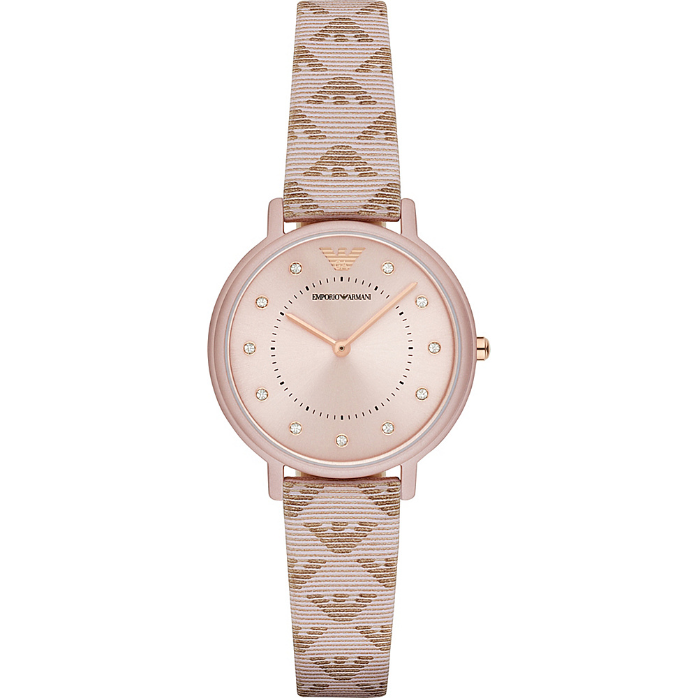 Emporio Armani Dress Watch Pink Emporio Armani Watches