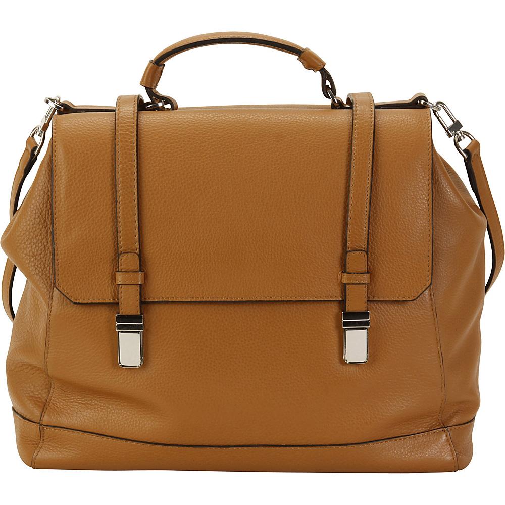 Hadaki Lady Urban Large Messenger Camel - Hadaki Leather Handbags - Handbags, Leather Handbags