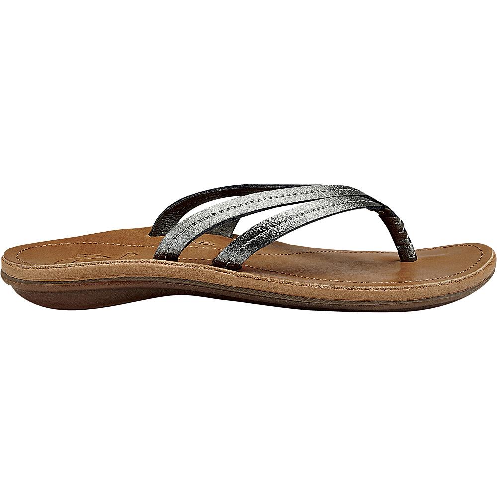 OluKai Womens UI Sandal 7 - Pewter/Sahara - OluKai Womens Footwear - Apparel & Footwear, Women's Footwear