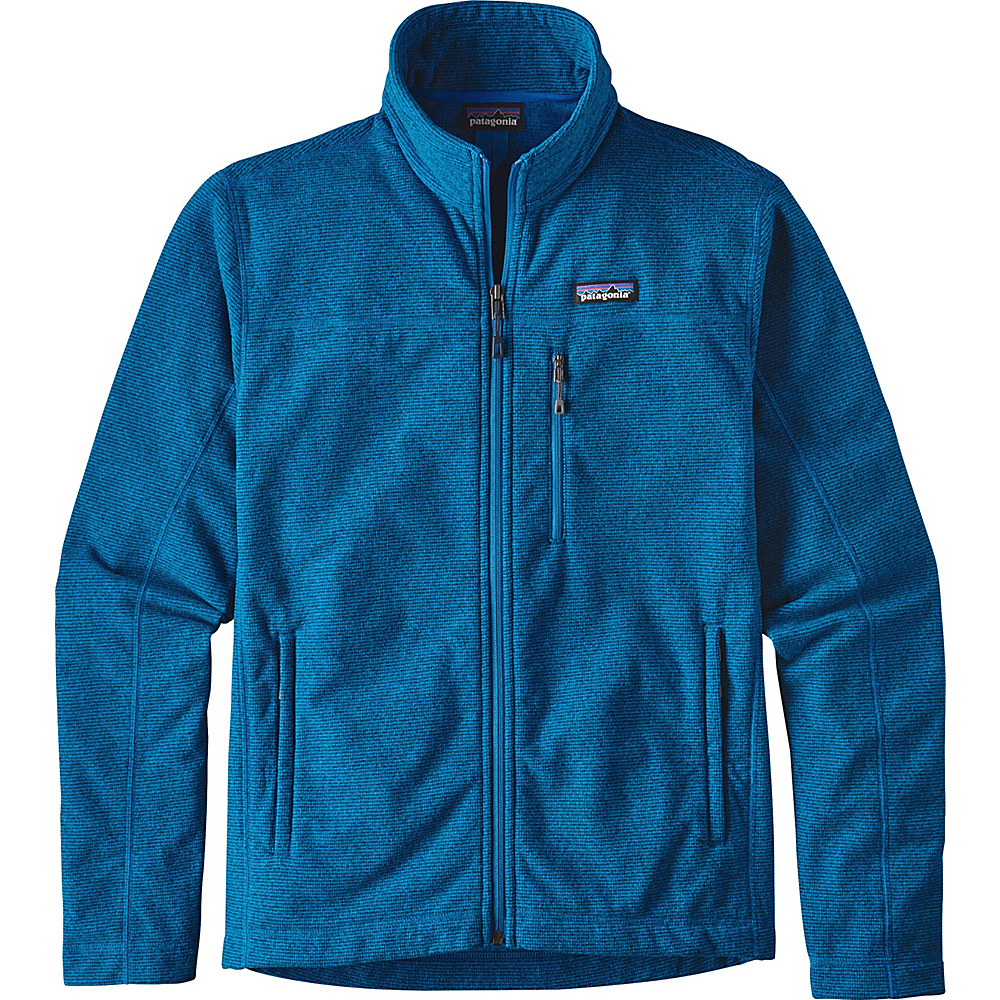 Patagonia Mens Oakes Jacket L - Andes Blue - Patagonia Mens Apparel - Apparel & Footwear, Men's Apparel