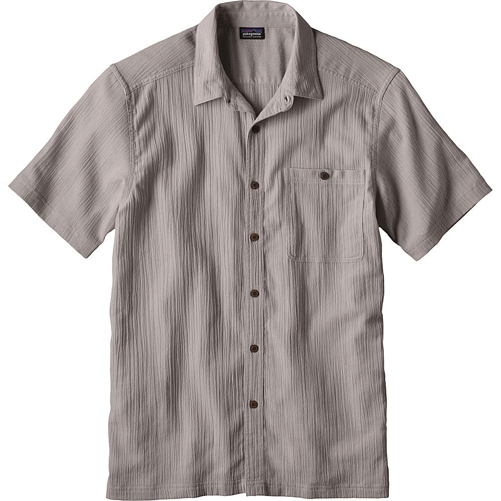 Patagonia Mens A/C Shirt S - Drifter Grey - Patagonia Mens Apparel - Apparel & Footwear, Men's Apparel