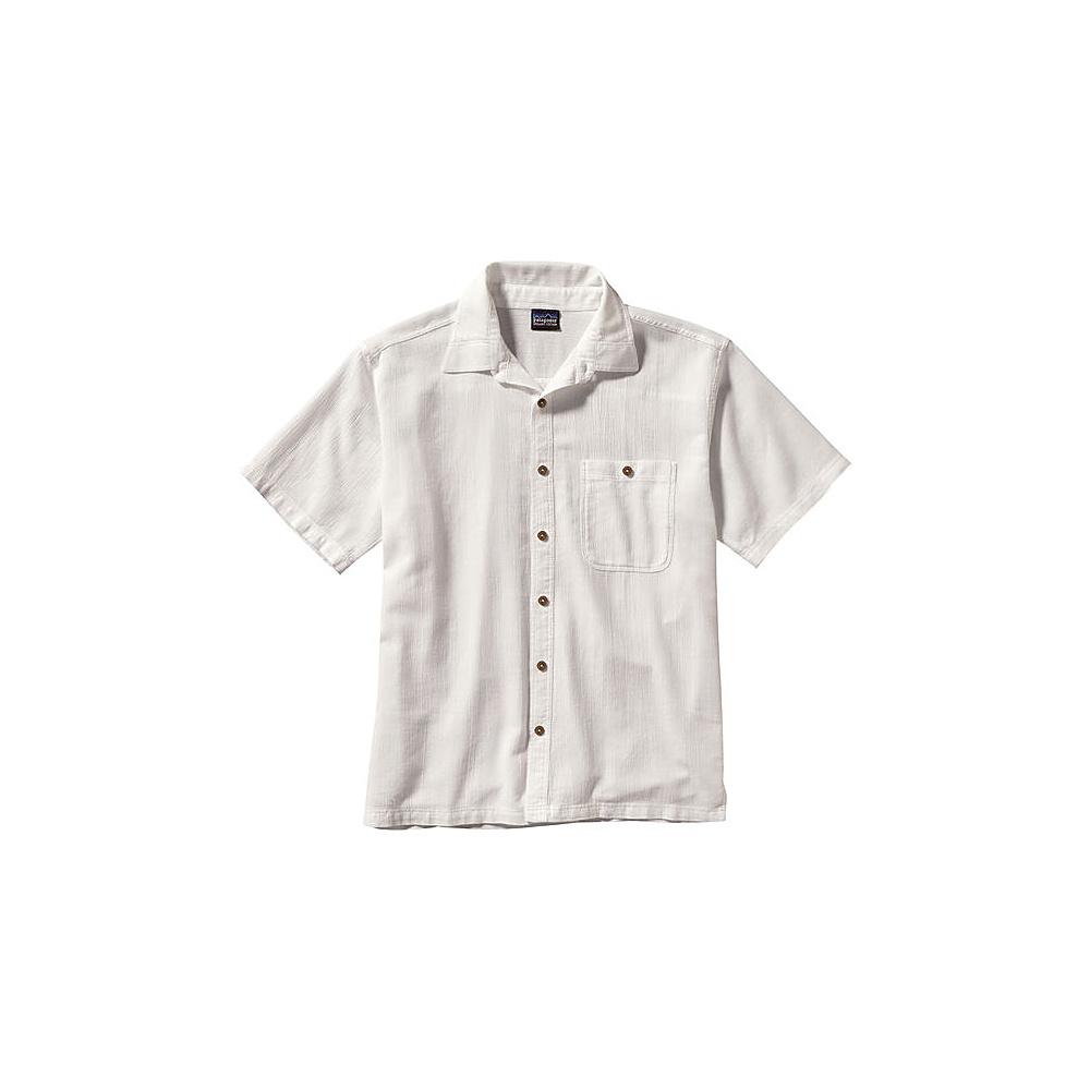 Patagonia Mens A/C Shirt M - White - Patagonia Mens Apparel - Apparel & Footwear, Men's Apparel
