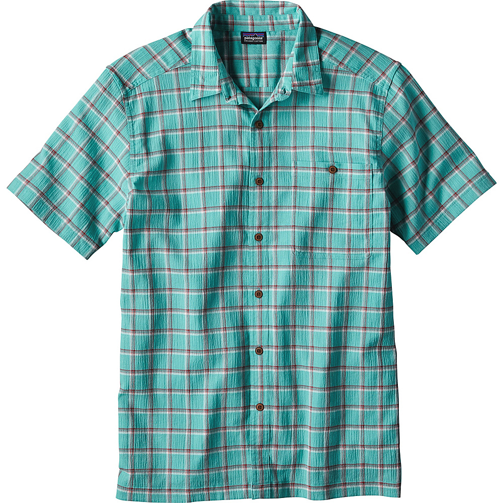 Patagonia Mens A/C Shirt XS - Adrift: Galah Green - Patagonia Mens Apparel - Apparel & Footwear, Men's Apparel