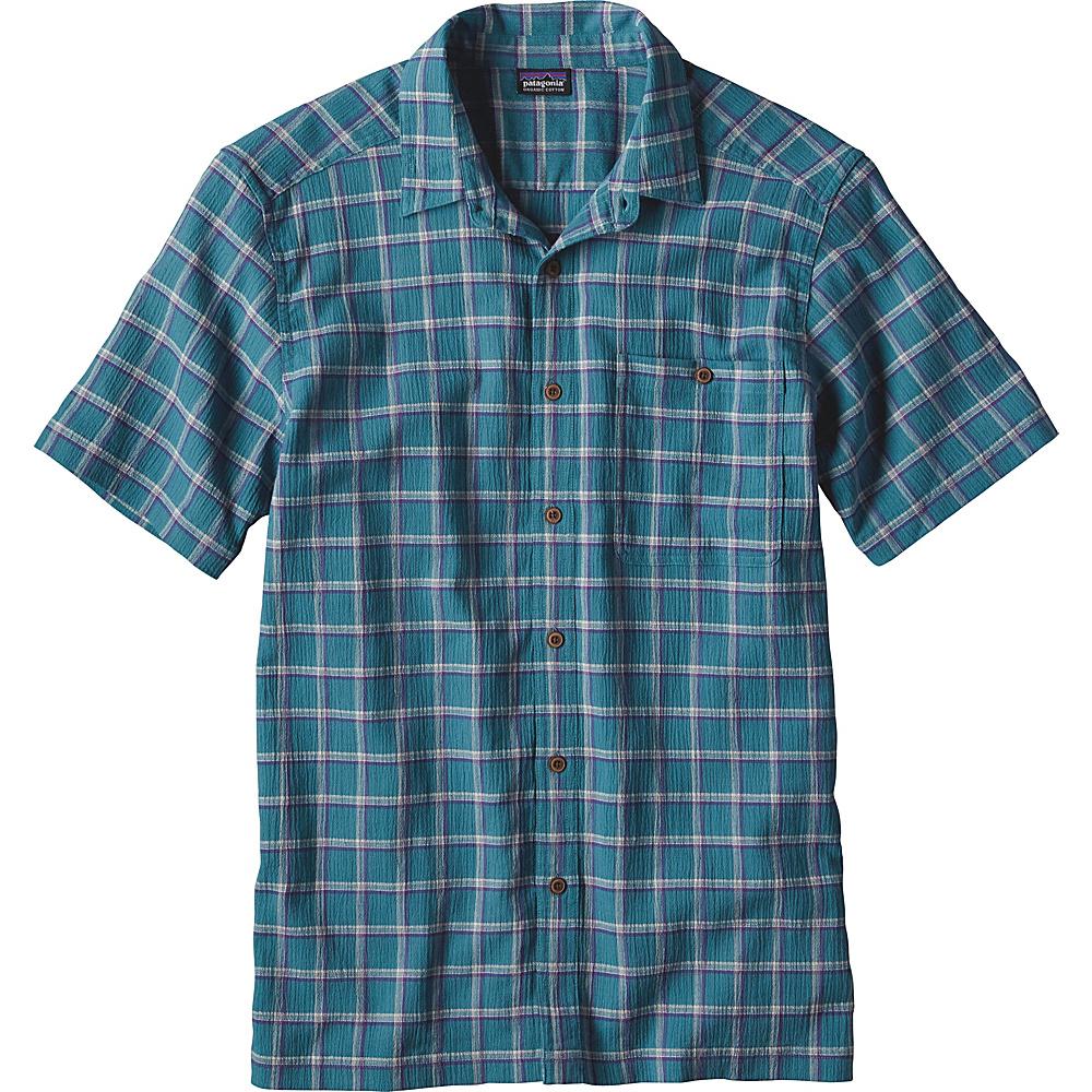 Patagonia Mens A/C Shirt XS - Adrift: True Teal - Patagonia Mens Apparel - Apparel & Footwear, Men's Apparel
