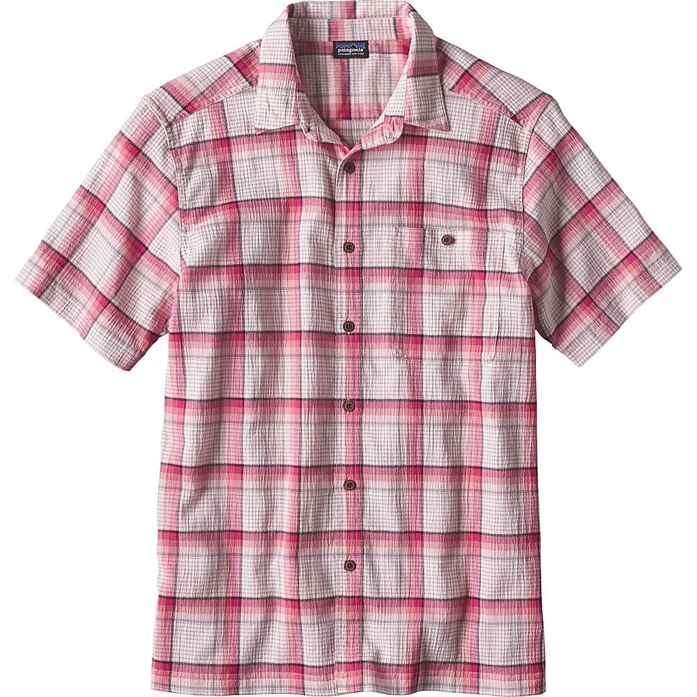 Patagonia Mens A/C Shirt XS - Alongshore: Carve Coral - Patagonia Mens Apparel - Apparel & Footwear, Men's Apparel