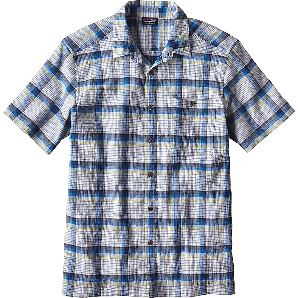 Patagonia Mens A/C Shirt M - Alongshore: Cuban Blue - Patagonia Mens Apparel - Apparel & Footwear, Men's Apparel
