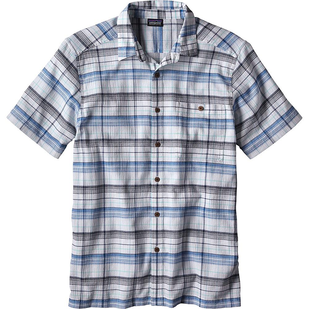 Patagonia Mens A/C Shirt XS - Abyss: White - Patagonia Mens Apparel - Apparel & Footwear, Men's Apparel
