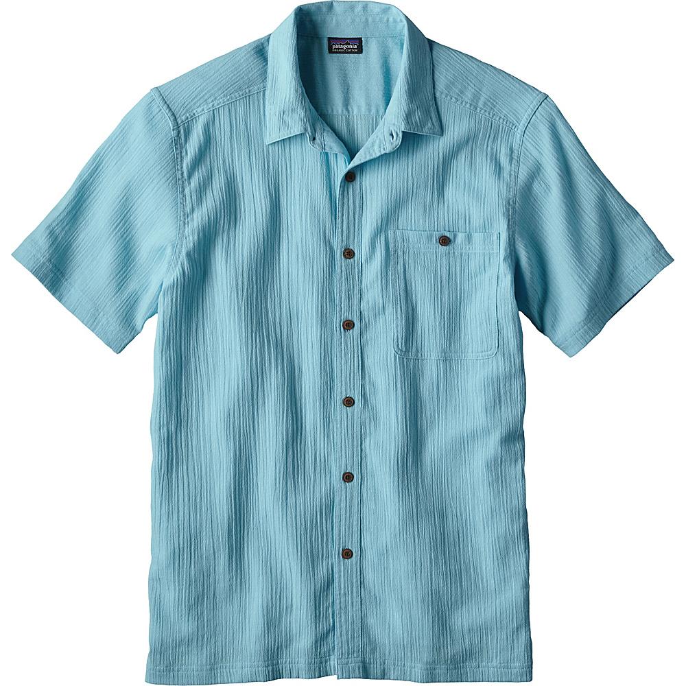 Patagonia Mens A/C Shirt XS - Cuban Blue - Patagonia Mens Apparel - Apparel & Footwear, Men's Apparel