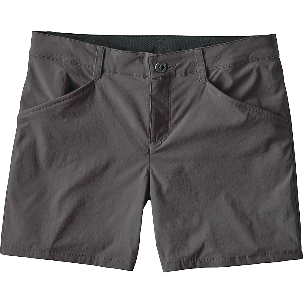 Patagonia Womens Quandary Shorts - 5 in. 14 - Forge Grey - Patagonia Womens Apparel - Apparel & Footwear, Women's Apparel