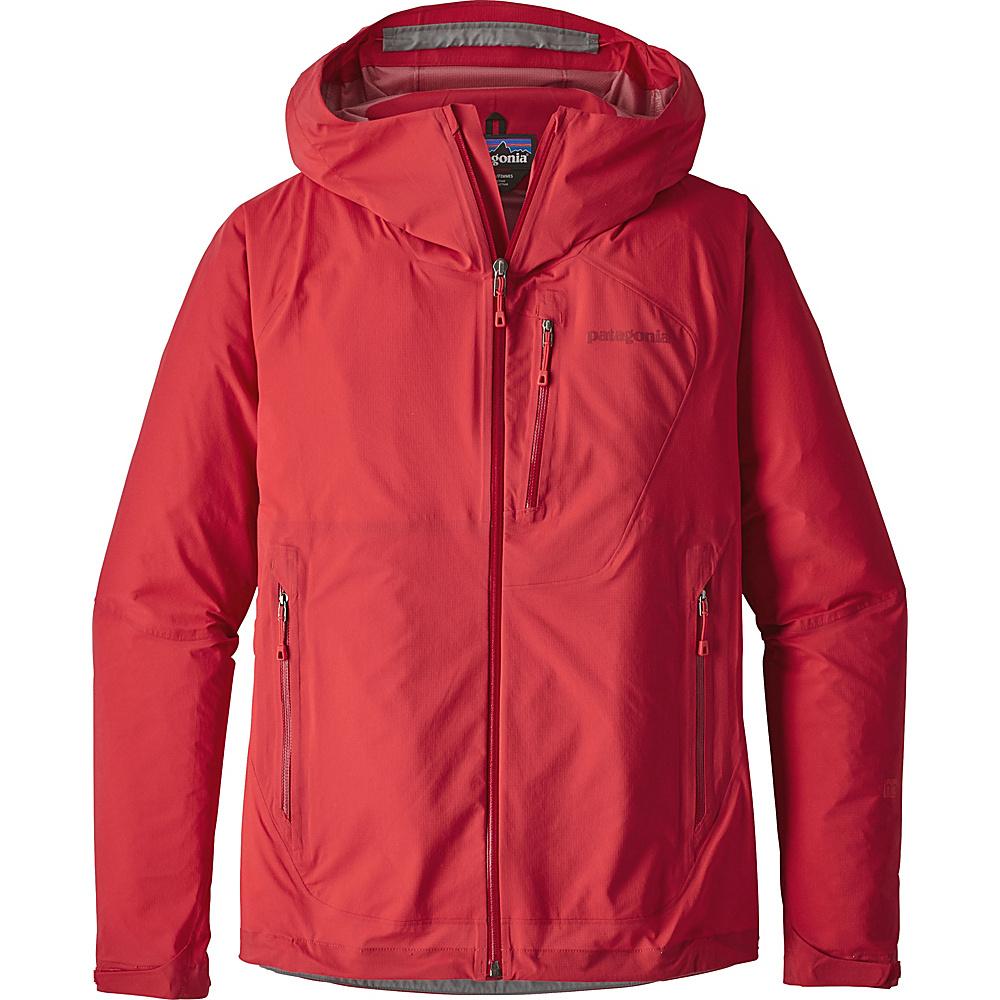 Patagonia Womens Stretch Rainshadow Jacket XL - Maraschino - Patagonia Womens Apparel - Apparel & Footwear, Women's Apparel