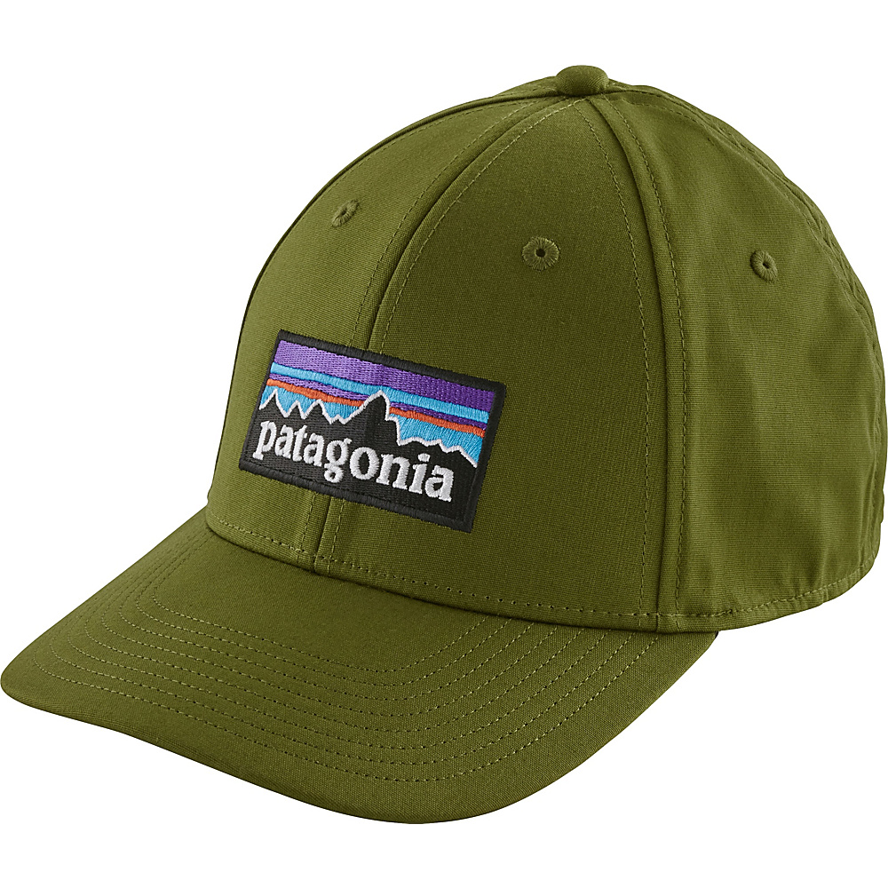 Patagonia P-6 Logo Stretch Fit Hat S/M - True Teal - Patagonia Hats/Gloves/Scarves - Fashion Accessories, Hats/Gloves/Scarves