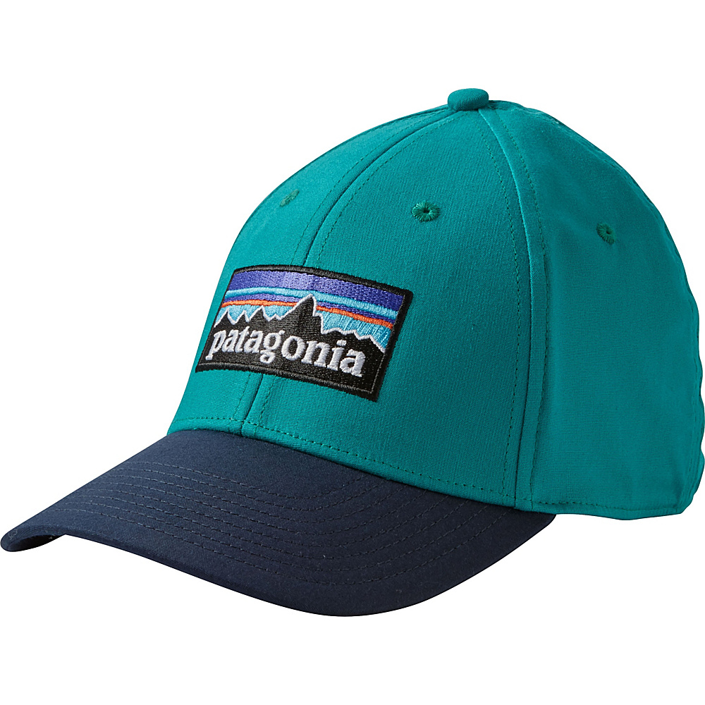 Patagonia P-6 Logo Stretch Fit Hat L/XL - True Teal - Patagonia Hats/Gloves/Scarves - Fashion Accessories, Hats/Gloves/Scarves