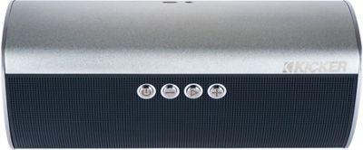Kicker KPM50 Wireless Speaker System Silver - Kicker Headphones & Speakers