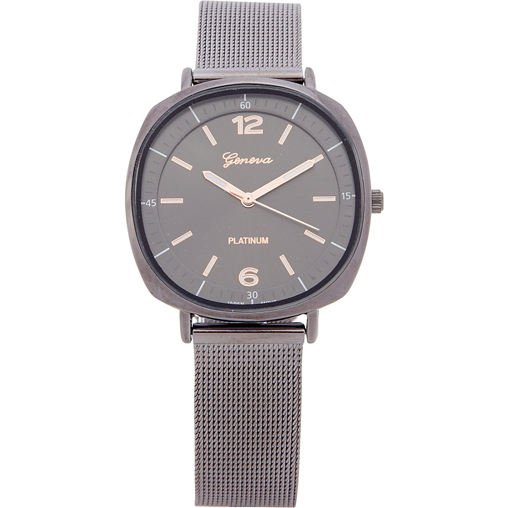 Samoe Mesh Bracelet Watch Gunmetal Samoe Watches