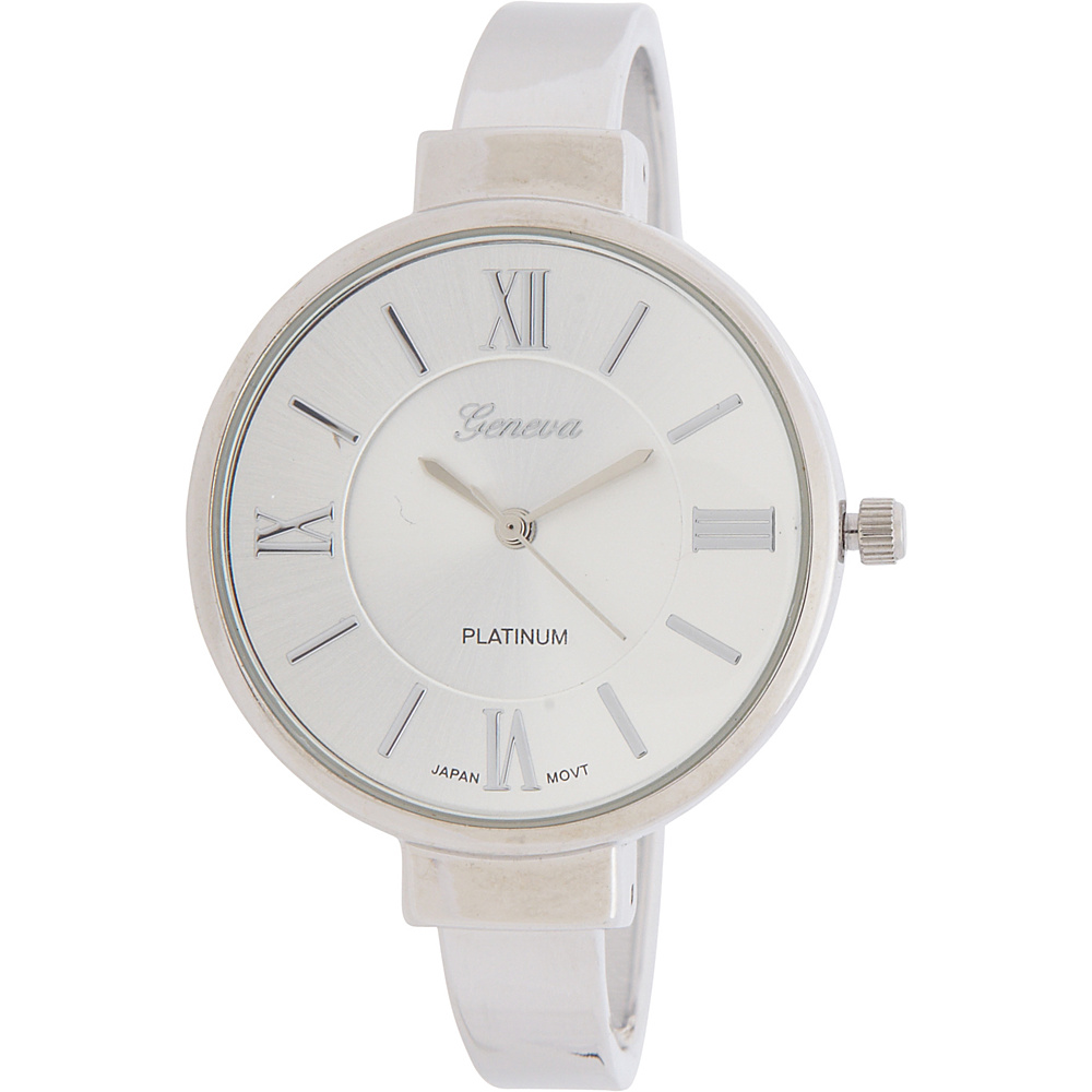 Samoe Silver Cuff Watch Silver Samoe Watches