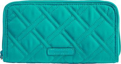 Vera Bradley RFID Georgia Wallet-Retired Prints Turquoise Sea - Vera Bradley Women's Wallets