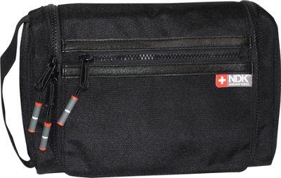 Nidecker Design Capital Collection Hanging Travel Kit Black - Nidecker Design Toiletry Kits