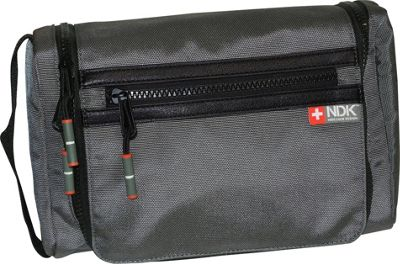 Nidecker Design Capital Collection Hanging Travel Kit Shale - Nidecker Design Toiletry Kits