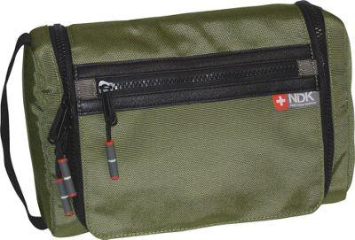 Nidecker Design Capital Collection Hanging Travel Kit Moss - Nidecker Design Toiletry Kits