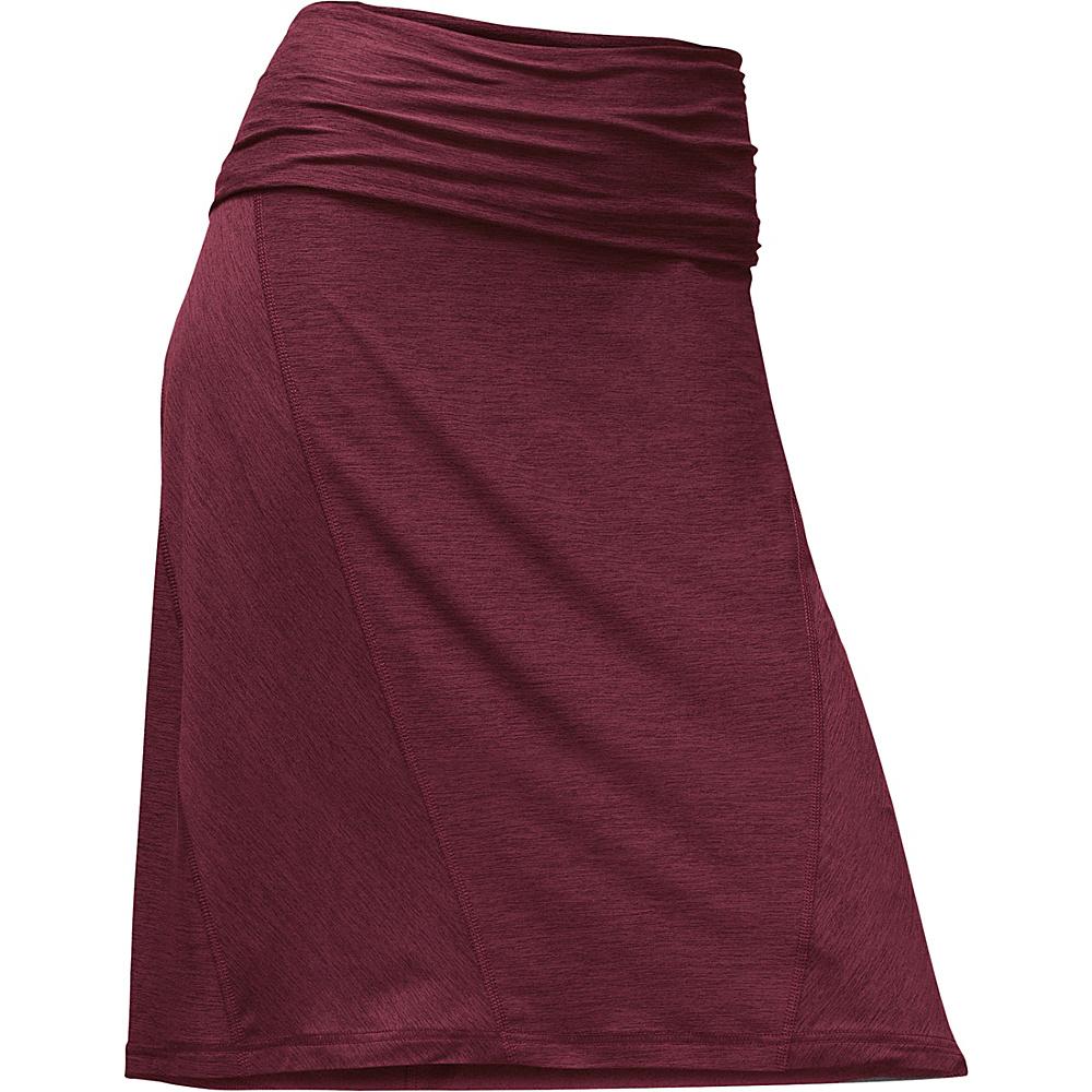 The North Face Womens Getaway Skirt M - Deep Garnet Red - The North Face Womens Apparel - Apparel & Footwear, Women's Apparel