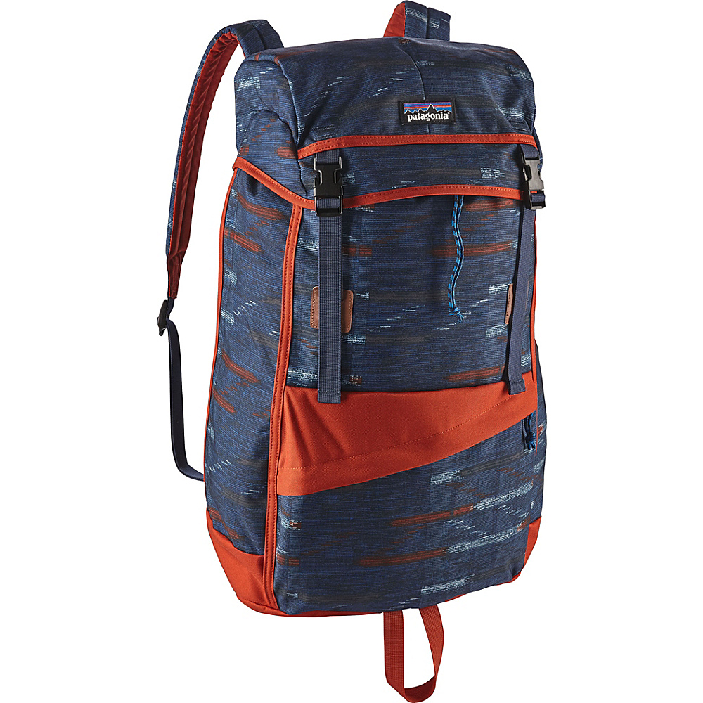 Patagonia Arbor Grande Pack 32L Elwha Ikat: Navy Blue - Patagonia Everyday Backpacks - Backpacks, Everyday Backpacks
