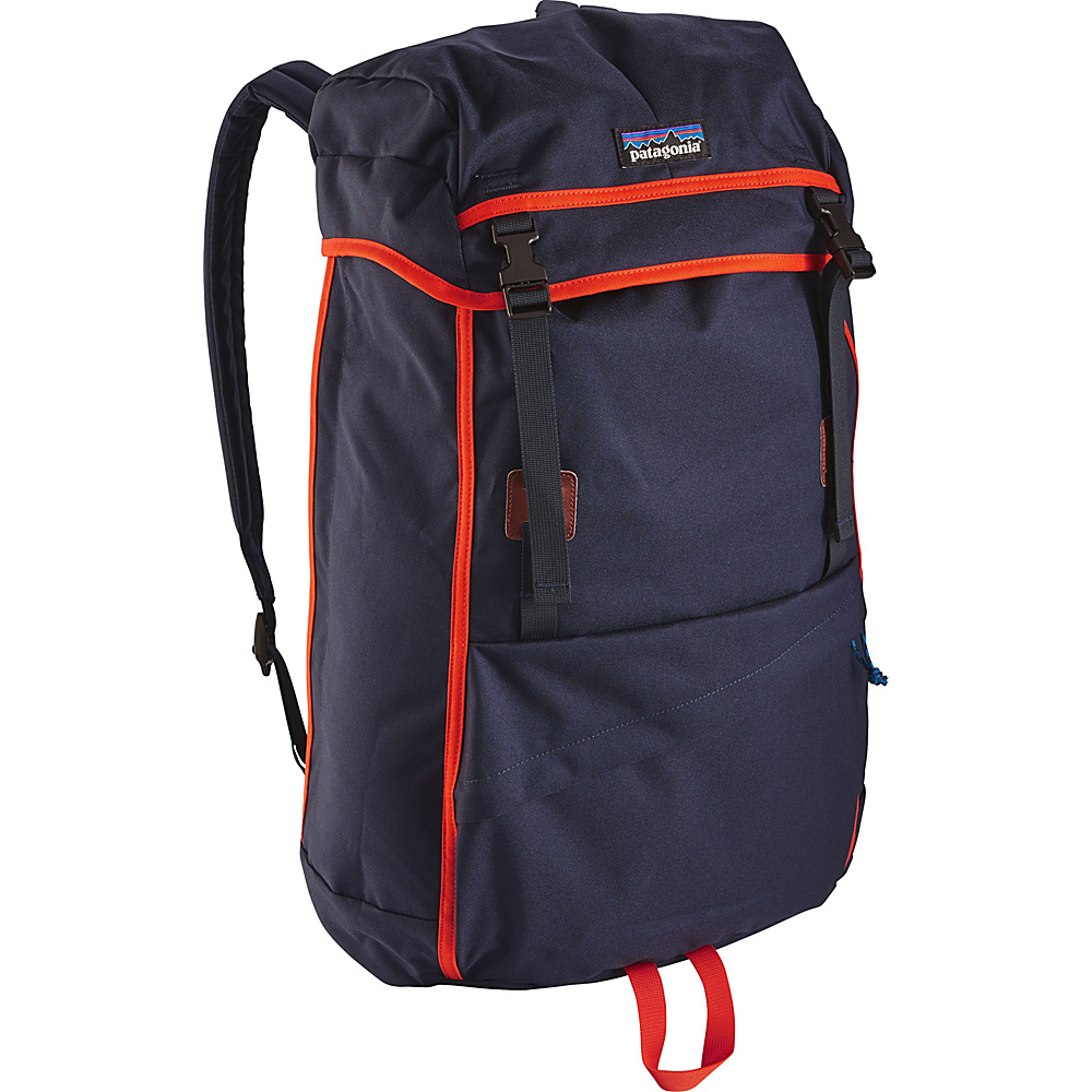 Patagonia Arbor Grande Pack 32L Navy Blue w/Paintbrush Red - Patagonia Everyday Backpacks - Backpacks, Everyday Backpacks