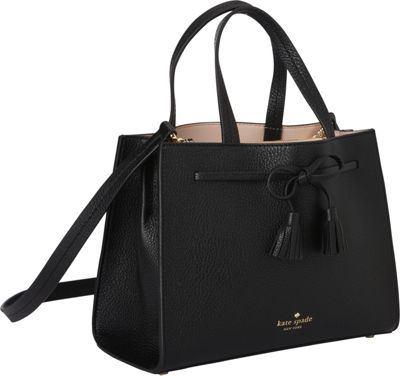 kate spade new york Hayes Street Small Isobel Shoulder Bag Black - kate spade new york Designer Handbags