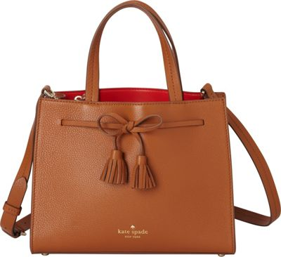 kate spade new york Hayes Street Small Isobel Shoulder Bag Warm Cognac - kate spade new york Designer Handbags