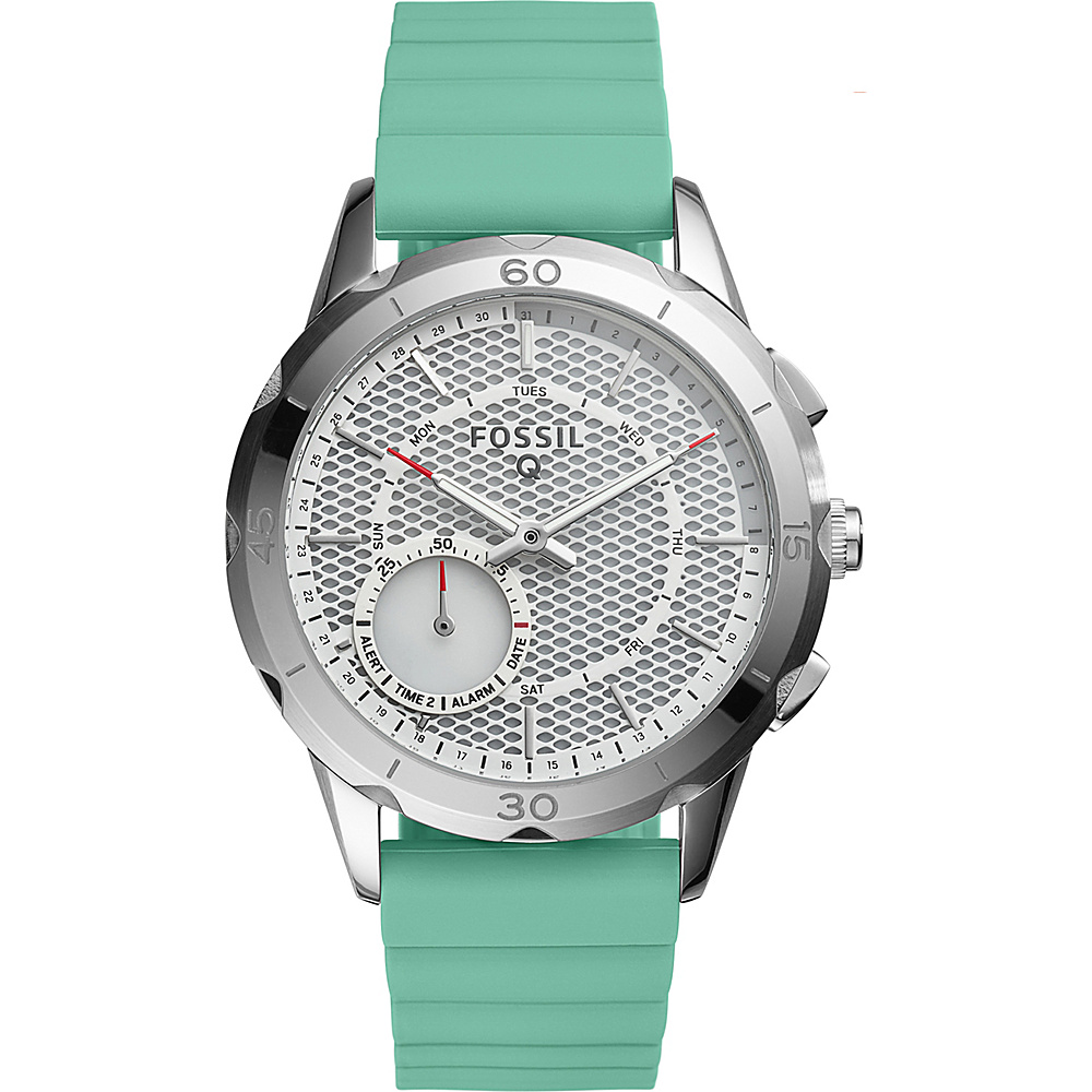 Fossil Q Modern Pursuit Silicone Hybrid Smartwatch Green - Fossil Wearable Technology